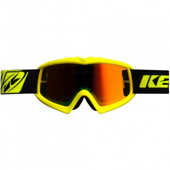 Maschera Cross Kenny Performance Neon Yellow Kid