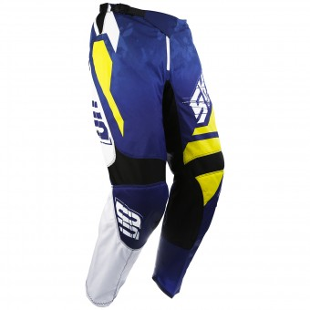 Pantalone Cross SHOT Devo Squad Blue Yellow Pant