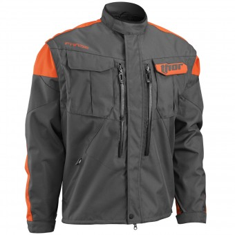 Giacca Cross Thor Phase Jacket Charcoal Orange