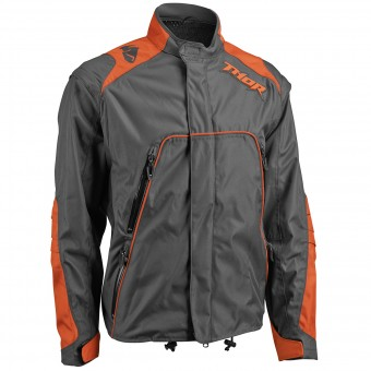 Giacca Cross Thor Range Jacket Charcoal Orange