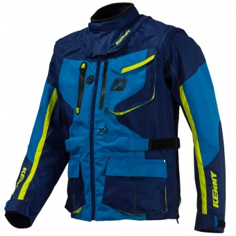 Giacca Cross Kenny Titanium Enduro Blue Jacket