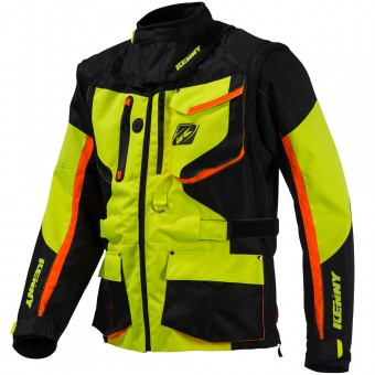 Giacca Cross Kenny Titanium Enduro Neon Yellow Jacket