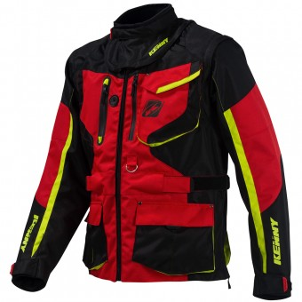 Giacca Cross Kenny Titanium Enduro Red Jacket