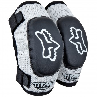 Gomitiere Cross FOX Titan Elbow Bambino Black Silver