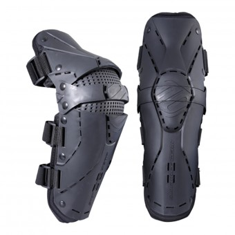Ginocchiere Cross SHOT Protector Knee Black Red Bambino