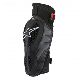 Ginocchiere Cross Alpinestars Sequence Knee Black Red