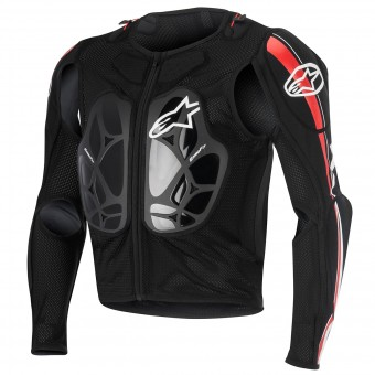Gilet di protezione Cross Alpinestars Bionic Pro Black Red