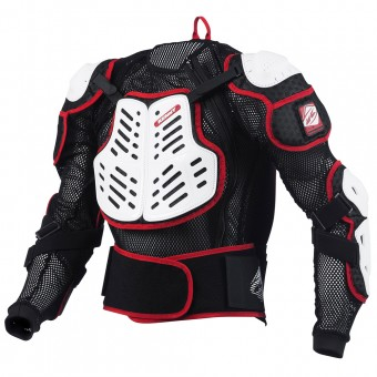 Gilet di protezione Cross Kenny Performance White Red
