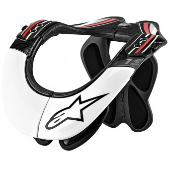 Supporto Collo Cross Alpinestars BNS Pro White