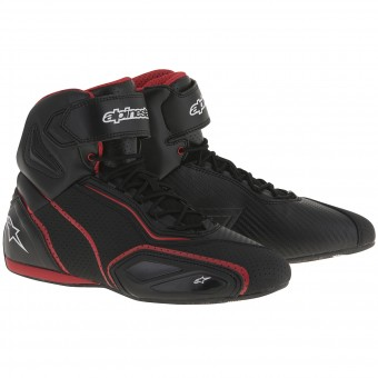 Sneakers Moto Alpinestars Faster 2 Vented Black Red