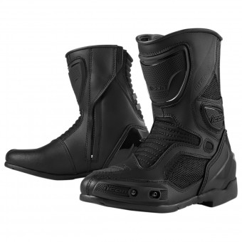 Stivali Moto ICON Overlord Women Boot Stealth