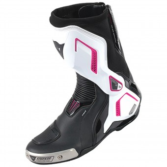 Stivali Moto Dainese Torque D1 Out Lady Black Fuschia