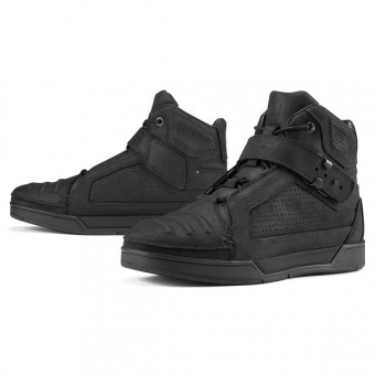Scarpe Moto ICON Truant Johnny Black