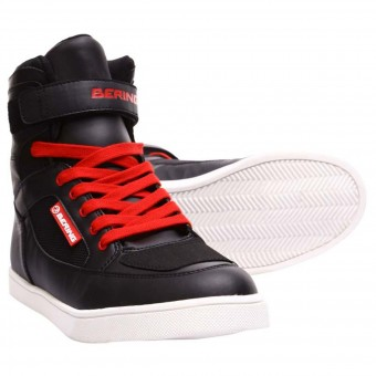 Sneakers Moto Bering Jungle Waterproof EPI Black Red