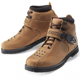 Scarpe Moto ICON Superduty 4 Brown