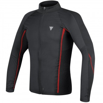 Maglia Intima Riscaldata Dainese D-Core No-Wind Thermo Tee Black Red