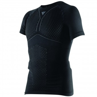 Maglia Intima Riscaldata Dainese D-Core Thermo Tee SS Black Anthracite