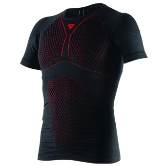 Maglia Intima Riscaldata Dainese D-Core Thermo Tee SS Black Red
