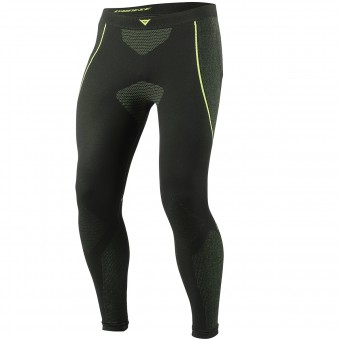 Pantalone Intimo Riscaldato Dainese D-Core Dry Pant LL Black Neon Yellow