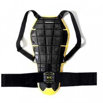 Paraschiena Moto Spidi Back Warrior Evo Nero/Giallo