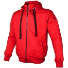Giacche moto Booster Hoodie Kevlar Core Red