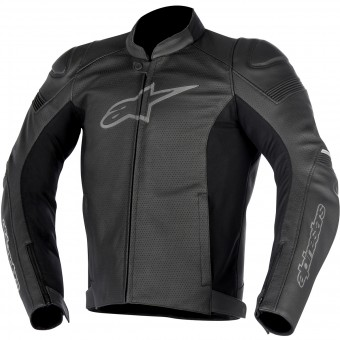 Giacche moto Alpinestars SP-1 Leather Airflow Black