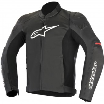 Giacche moto Alpinestars SP-1 Leather Black Red