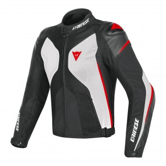 Giacche moto Dainese Super Rider D-Dry White Black Red