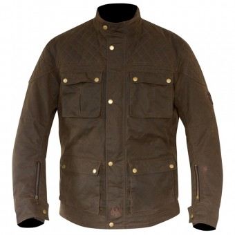 Giacche moto Merlin Armitage Wax Olive