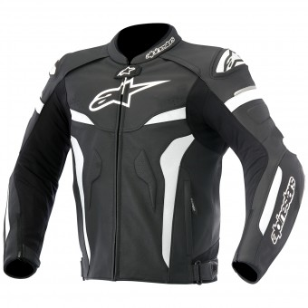 Giacche moto Alpinestars Celer Leather Black White