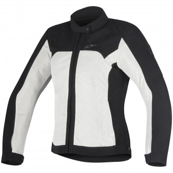 Giacche moto Alpinestars Eloise Black Light Gray