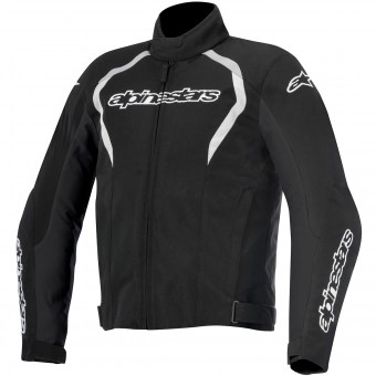 Giacche moto Alpinestars Fastback WP Black White