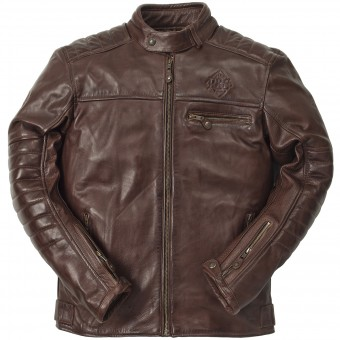 Giacche moto Ride & Sons Getaway Cow Skin Brown