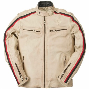 Giacche moto Ride & Sons Heritage Vintage Cow Skin Sand