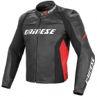 Giacche moto Dainese Racing D1 Black Red