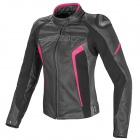 Giacche moto Dainese Racing D1 Lady Black Anthracite Fuchsia Fluo