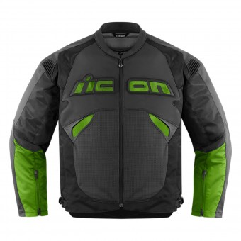 Giacche moto ICON Sanctuary Jacket Green
