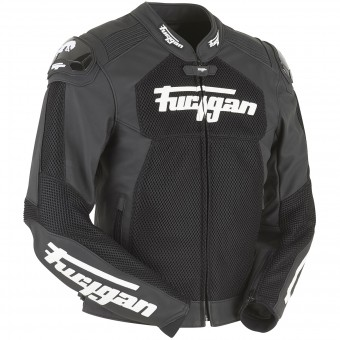 Giacche moto Furygan Speed Mesh 3D Black White