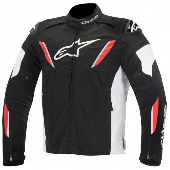 Giacche moto Alpinestars T-GP R Waterproof Black White Red