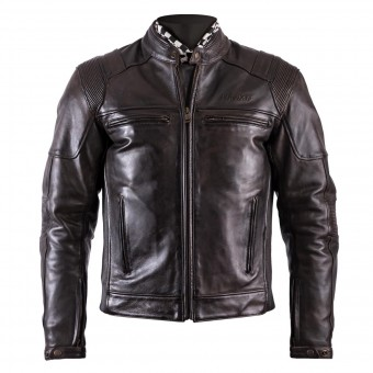 Giacche moto Helstons Trust Leather Dirty Brown