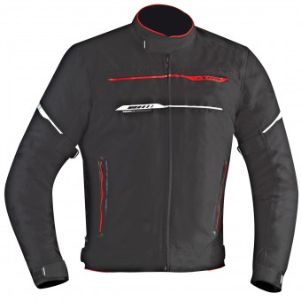 Giacche moto Ixon Zetec HP Black Red