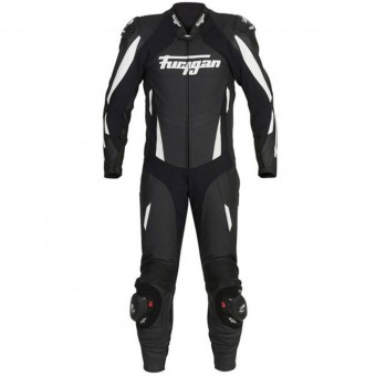 Tute Moto in pelle Furygan Dark Apex Black White