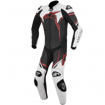 Tute Moto in pelle Alpinestars GP Plus Leather Suit Black White Red
