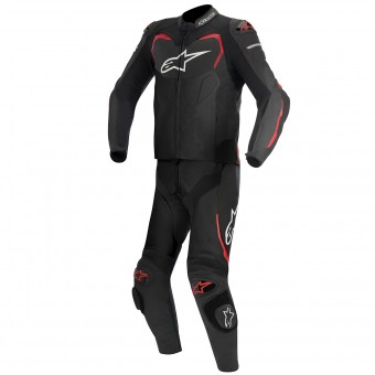 Tute Moto in pelle Alpinestars GP PRO 2PC Black Red