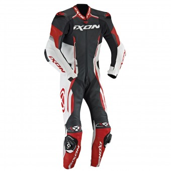 Tute Moto in pelle Ixon Vortex EPI Black White Red