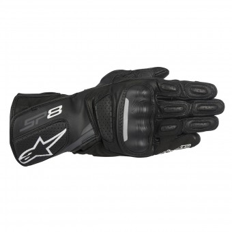 Guanti moto Alpinestars Stella SP-8 V2 Black Dark Grey