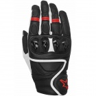 Guanti moto Alpinestars Celer Black White Red