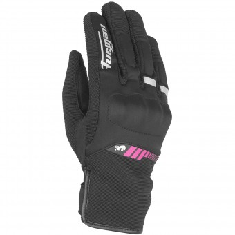 Guanti moto Furygan Jet Lady All Season Black Pink