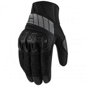 Guanti moto ICON Overlord Mesh Stealth
