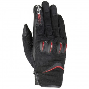 Guanti moto Furygan Sisko Black Red